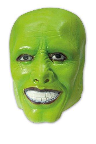 Maske für Herren Halloweenmaske Horror Herrenmaske (Grüne Maske Film)