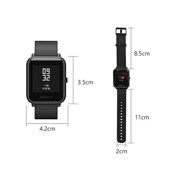 EdwayBuy Smartwatch, Amazfit Bip Relojes Deportivos con GPS Bluetooth IP68