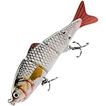 Morza Forma plástica atrae a los Peces Cebo Artificial Metal Triple Garras Gancho de Pesca de