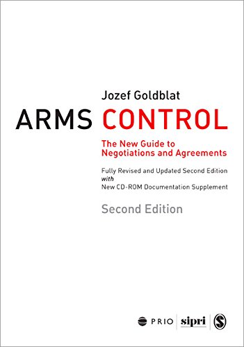 Goldblat, J: Arms Control: The New Guide to Negotiations and Agreements (International Peace Research Institute, Oslo, 258)