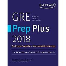 GRE Prep Plus 2018: Practice Tests + Proven Strategies + Online + Video + Mobile (Kaplan Test Prep) (English Edition)