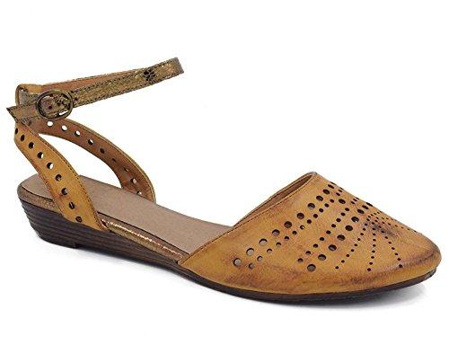 MaxMuXun Chaussures Femme Sandales Compens¨¦es En Cuir PU EU 36-41 Noir vernis