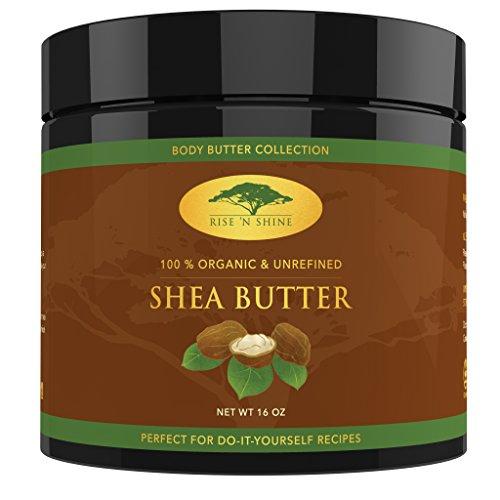 Velvet Moisturizing Cream (Rise 'N Shine Online SheaButter mit Rezept ebook - perfekt für alle Ihre DIY Home RezeptewieSeife, Shampoo, Lotion, Lippenbalsam und Hand Cream (453g))