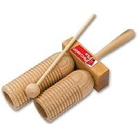 Percussion Plus Holz-Agogo Klangstäbe mit Schlägel