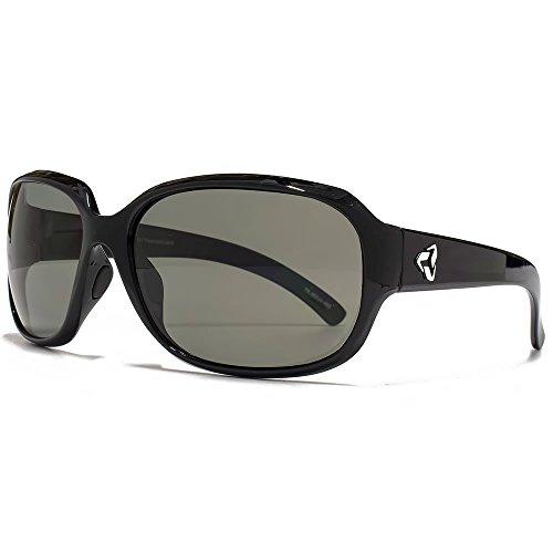 Ryders Eyewear Kira-Sonnenbrille in schwarz polarisiert R913 001 One Size Grey Polarised (Sonnenbrille Kira)