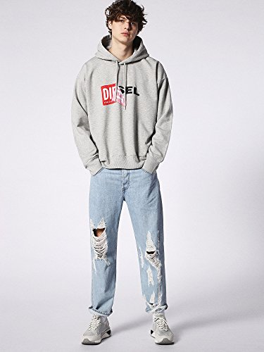 Diesel Herren Sweatshirt Grau (Grey912)