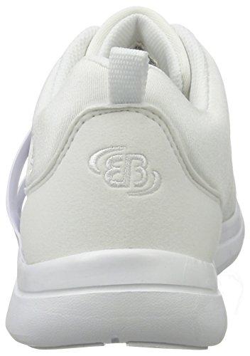 Bruetting Unisex-Erwachsene Ambrosia Sneaker Weiß (Weiss)