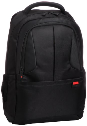 Best samsonite backpack in India 2020 Samsonite Ikonn Polyester 24 Ltrs Black Laptop Backpack (31R (0) 09 001) Image 2