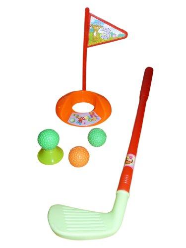 A115, 6 tlg. Golfspiel für Groß und Klein - für drinnen und draußen, Geschenk-idee für Jungen und Mädchen für Weihnachten und zum Geburtstag, Geburtstags-Geschenk (Weihnachts-ideen Für 6-jährigen Jungen)
