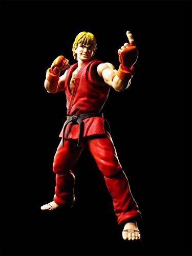 Bandai - Ken Masters Street Fighter Figuarts No.07, BDISF238942 3