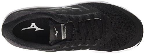 Mizuno Ezrun, Chaussures de Running Homme Multicolore (Black/magnet/white 52)