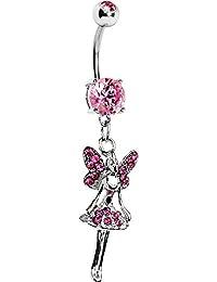 Cuerpo Rosa Caramelo Hadas De La Princesa Piercing Ombligo