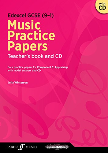 Edexcel GCSE Music Practice Papers Teacher's Book (with Free Audio CD) (Brass Band Score)
