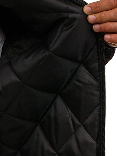 BOLF Giacca – Softshell – Con cerniera – Collo alto – Con cappuccio – Stile sportivo – Da uomo 4D4 Rosso AK95