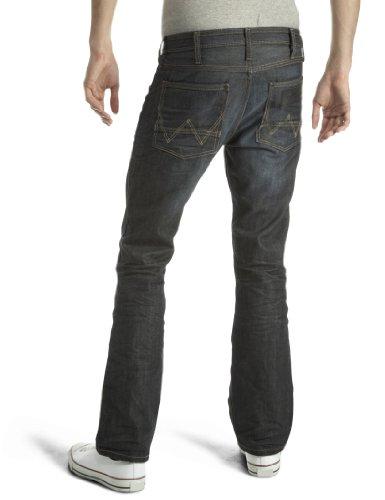 Wrangler - Ace Longhorn - Jeans - Droit - Homme Bleu