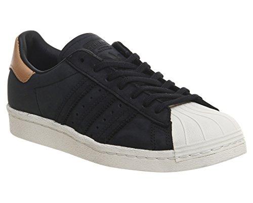 Adidas Superstar 80's Donna Sneaker Nero Nero