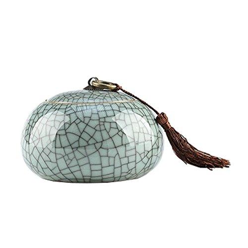 Kreative Keramik Jar Zucker / Jam / Snack Pot Kaffee- / Storage Jar,D - Jam Pot