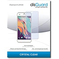 """3 x disGuard® Screen Protector HTC Desire 10 Pro Screen Protection Film """"CrystalClear"""" invisible"""