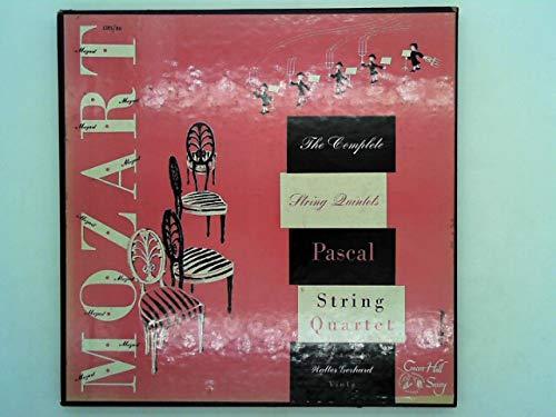 Mozart - Complete String Quintets, PASCAL STRING QUARTET, 4 LP Concert Hall