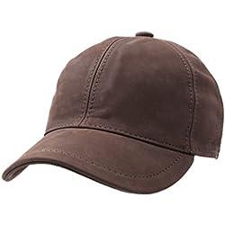 Wegener - Gorras de béisbol cuero hombre michel cuir - talla 61 cm
