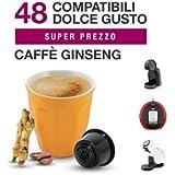Dolce Gusto 144Cápsulas café al ginseng COMPATIBLES (3cajas de 48unidades)