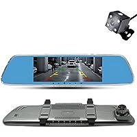 Anstar New 7.0 Inch Car Dvr Camera Rearview Mirror Digital