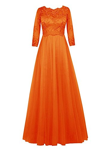 Drasawee Damen Empire Kleid 2#