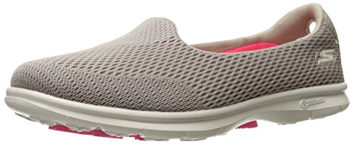 Skechers Performance Go Step Maj Walking Shoe Taupe