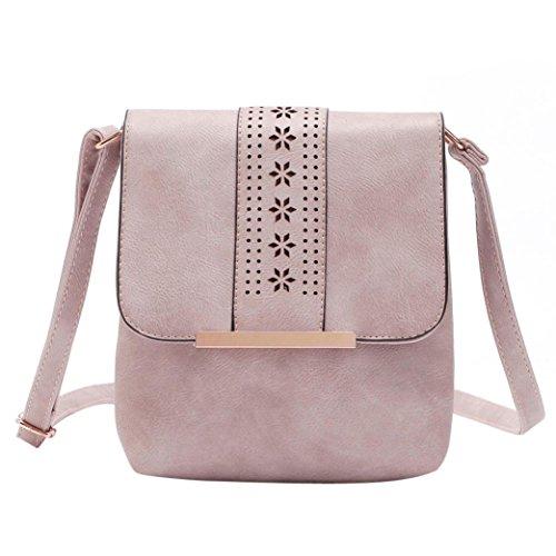 BZLine® Frauen Vintage Hohl-Out Bag Cover Retro Schulter Paket Tasche Handtasche