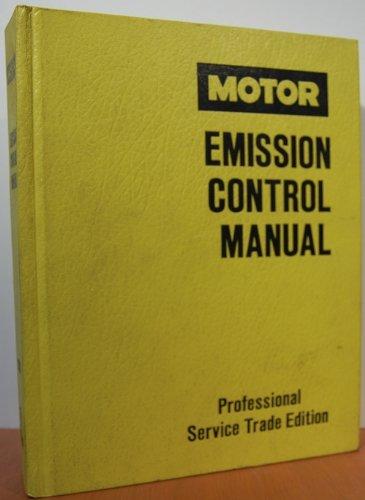 Motor Emission Control Manual 1989-90