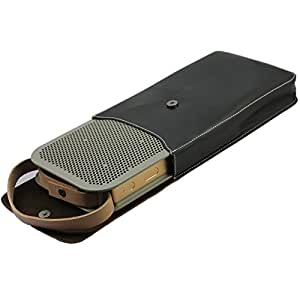 Portable Leather Case Caisse Bag Sleeve for B&O BeoPlay A2 Bluetooth Portable Speaker
