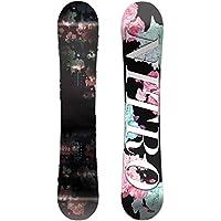 Nitro Snowboards Women's Fate Flatout Snowboard, Womens, Fate Flatout
