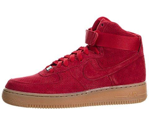 Nike Damen Wmns Air Force 1 HI Suede Turnschuhe, Rojo (University Red / University Red), 41 EU