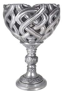 bougie, élégant Gobelet/Calice en forme de bougie Bougeoir en superbe Celte nœud designs