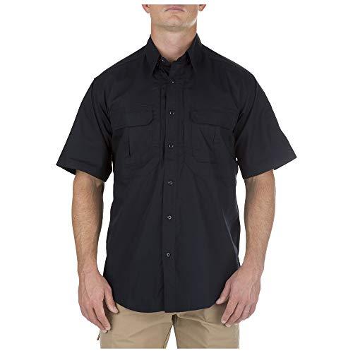 5.11Tactical # 71175t Taclite Pro Short Sleeve hoch Shirt, Herren, Dunkles Marineblau -