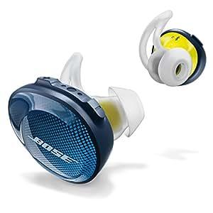 Bose Sound Sport Free Truly Wireless Sport Headphones (Midnight Blue/Citron)