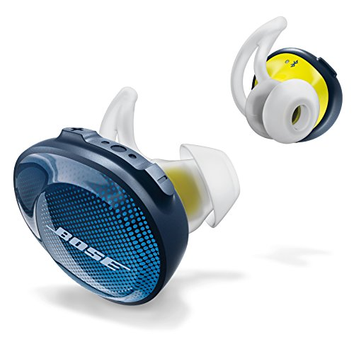 Bose Cuffie SoundSport Wireless, Blu Notte(Navy/Citron)