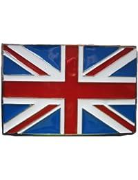 Union Jack UK Britain GB British Flag Biker Scooter Patriotic Belt Buckle