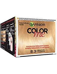 Garnier Color Me Coloration Cheveux Permanente Blond Doré 8.3 - Lot de 3