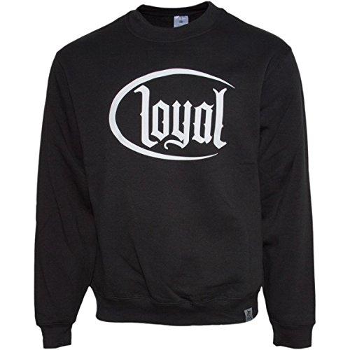 Kontra K Loyal Circle White PULLOVER Schwarz S