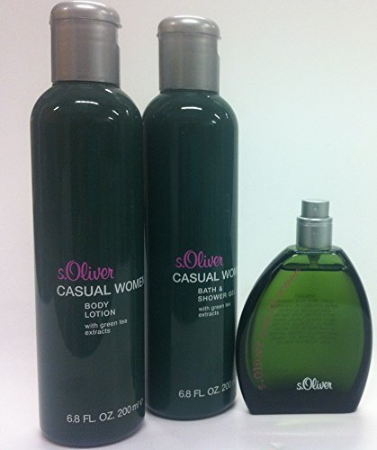 S.Oliver Housekeeper Casual Set mit 50 ml Eau de Toilette + Duschgel + Bodylotion