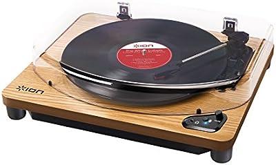 ION Air LP Wood - Tocadiscos con streaming de audio
