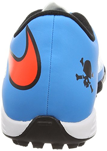 Nike  Hypervenom Phade Tf,  Herren Fußballschuh Blue (Clearwater/Total Crimson/Bl Lagoon/Black)