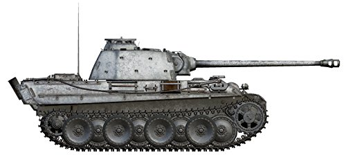 Italieri - Modellino Carro armato World Of Tanks Pz.Kpfw. V Panther Ausf. G