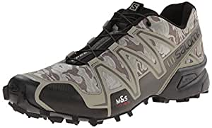 Salomon Speedcross 3 Camo Shoes, Men's 8 UK (Titanium/Swam)