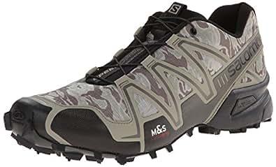 Salomon Men's Speedcross 3 Trail Running Shoe Camo Titanium / Dark Titanium / Swamp 12 D(M) US