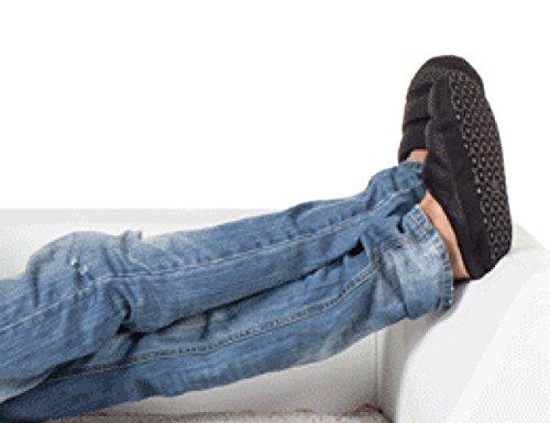 9b444828003c3 Pantoufle Chaussures Confortable Antidérapante Hiver Chausson Dintérieur  Léger Chaleureux Imperméable Doux Pantoufles Homme femme rose Noir ...
