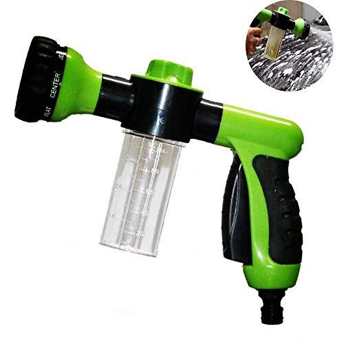 Duty Sprayer (WHCCL Auto-Schaumpistole,Mehrzweck-Hochdruckreinigungswerkzeug,Heavy Duty 8 Mode Metalldüse,Bewässerung von Autowaschanlagen, Garten, Rasen)