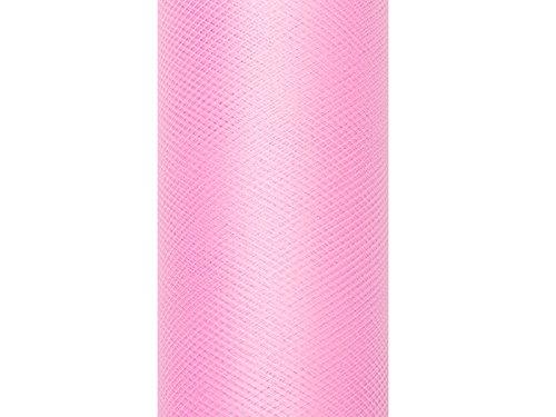 Tüll auf der Rolle rosa 30 cm breit x 9 m lang Tischläufer Stoff