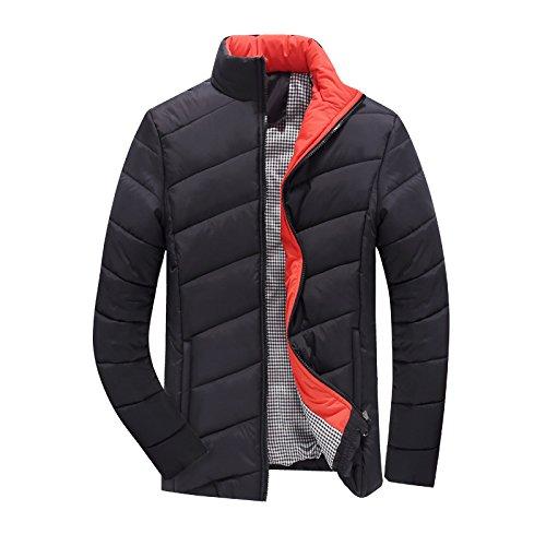Buggy Herren Kleidung aus Baumwolle und einem Mock-ausschnitt Pullover dicke Sau,Black,XXL (Diesel Herren Thong)